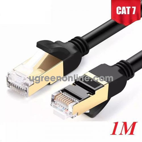 Ugreen 11268 Cat 7 Stp Lan Cable 1M Nw107