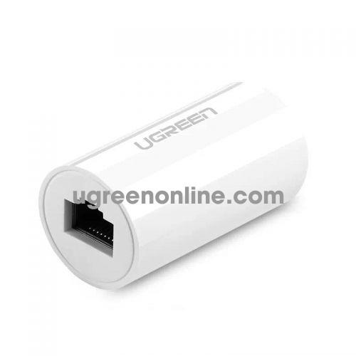 Ugreen 20391 Anti Thunder Rj45 Ethernet Connector White Nw116
