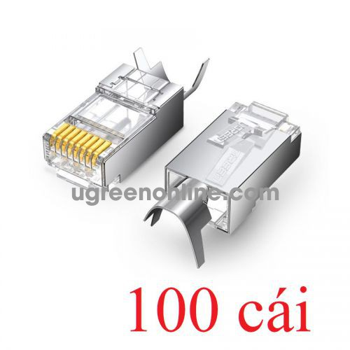 Ugreen 80828 10Gbps cat6a cat7 Shielded Connector 100PCS NW123 10080828