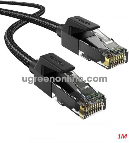 Ugreen 70678 1M Cat6e FTP Ethernet Cable Black NW135 10070678