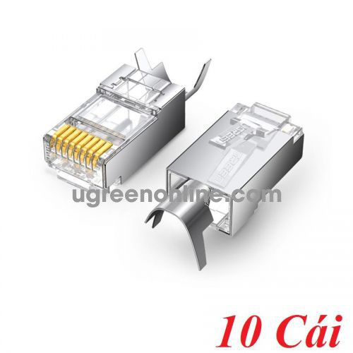 Ugreen 70316 10pcs Cat6a Cat7 modular plug connector RJ45 8P8C NW123 10070316