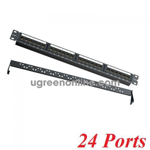 Ugreen 70422 24 ports cat5e Patch panel Ethernet NW126 10070422