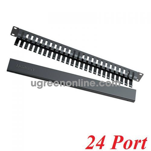 Ugreen 70424 24 ports Ethernet Cable Management Rack NW128 10070424