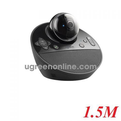 Logitech BCC950 webcam và thiết bị ghi âm cho máy tính 1.5m 97912