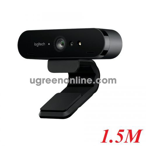 Logitech Brio 4k ultra hd webcam máy vi tính 1.5m 95254 10095254