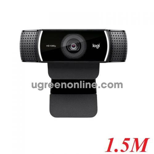 Logitech C922 webcam máy vi tính 1.5m 97071 10097071