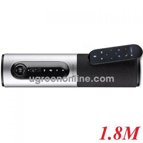 Logitech Conferencecam connect camera di động và thiết bị thu âm bluetooth 1.8m 97289
