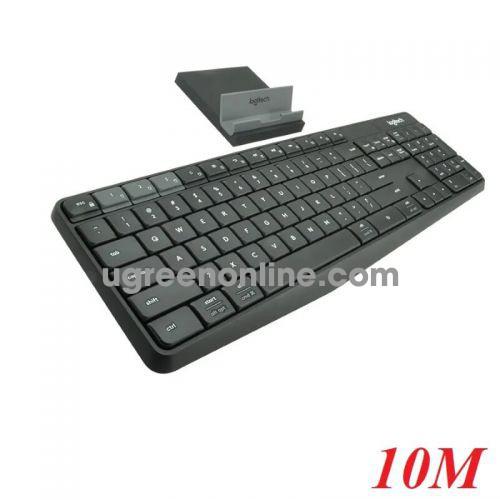 Logitech K375s bàn phím bluetooth và không dây có giá đỡ cho điện thoại 96694