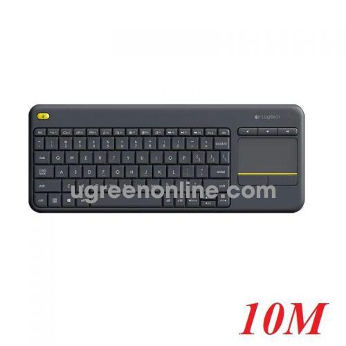 Logitech K400 plus bàn phím không dây giắc cắm usb 97195 10097195