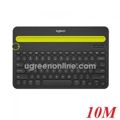 Logitech K480 bàn phím bluetooth có giá đỡ 10m 98082