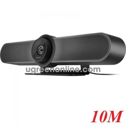 Logitech MeetUp Conference Cam camera có tích hợp âm thanh 10m 98016