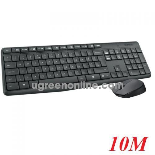 Logitech Mk235 bộ bàn phím chuột không dây 10m 96757 10096757