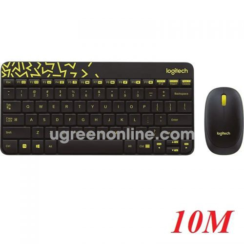 Logitech Mk240 bộ bàn phím chuột không dây 10m 96182