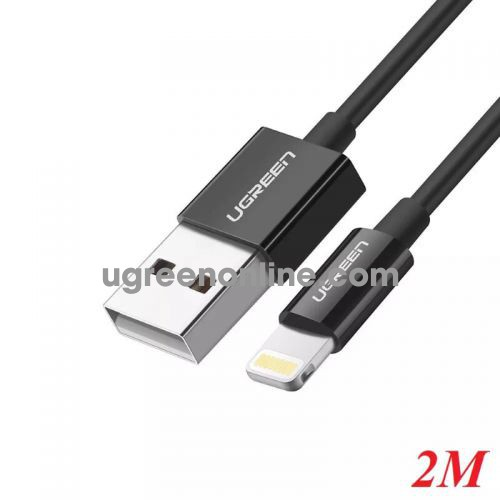 Ugreen 10472 2M Lightning to USB cable cáp ( ABS Case) US155