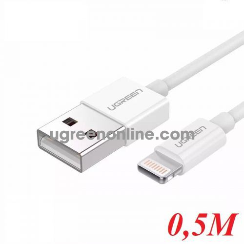 Ugreen 20727 0.5M Lightning to USB cable cáp ( ABS Case) US155 10020727
