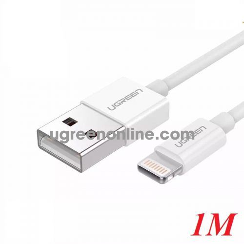 Ugreen 20728 1M Lightning to USB cable cáp ( ABS Case) US155 10020728