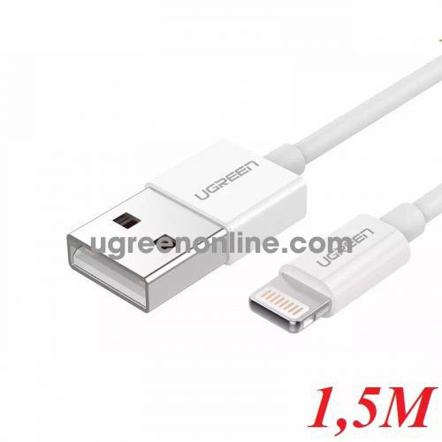 Ugreen 20729 1.5M Lightning to USB cable cáp ( ABS Case) US155 10020729