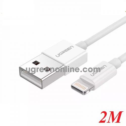 Ugreen 20730 2M Lightning to USB cable cáp ( ABS Case) US155 10020730
