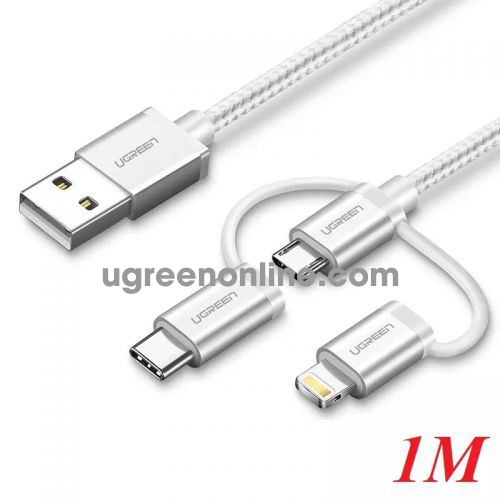 Ugreen 30461 1M Multifunction cable cáp US186 10030461