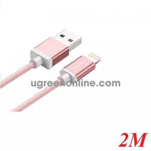 Ugreen 30592 2M MFI Lightning to USB cable cáp Aluminum Case + Braid US199 10030592
