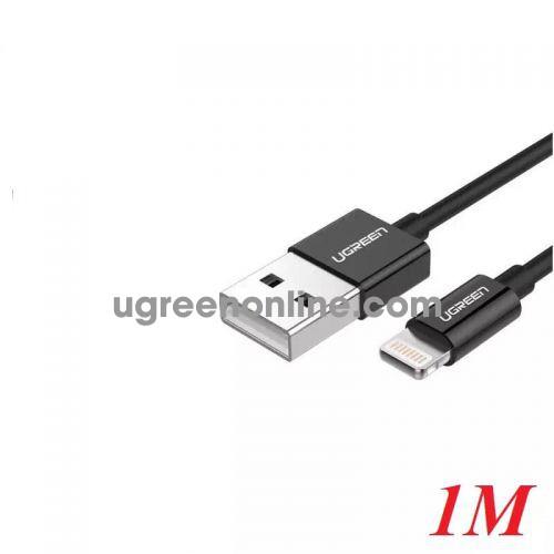 Ugreen 40985 1M MFI Lightning to USB cable cáp Aluminum Case + Braid US199 10040985