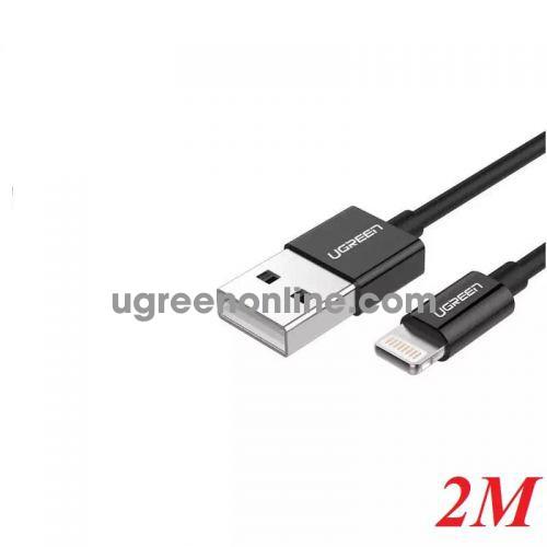 Ugreen 40987 2M MFI Lightning to USB cable cáp Aluminum Case + Braid US199 10040987
