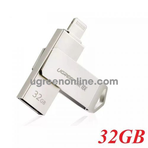 Ugreen 30616 32G USB 2.0 Flash Drive For Iphone and Ipad US200 10030616