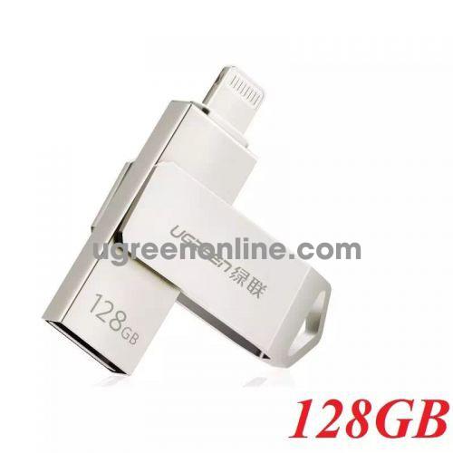 Ugreen 30647 128G USB 2.0 Flash Drive For Iphone and Ipad US200 10030647