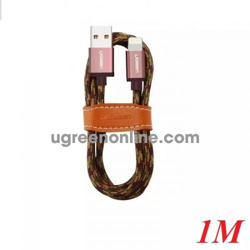 Ugreen 40689 1M USB 2.0 to Lightning cable cáp with Braid US247