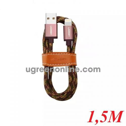 Ugreen 40690 1.5M USB 2.0 to Lightning cable cáp with Braid US247