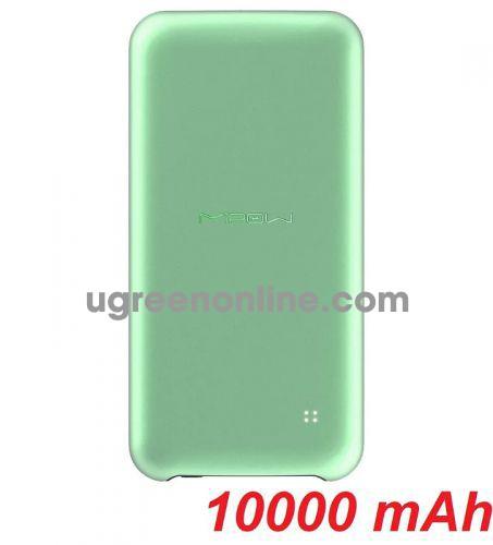 Mipow SPT02-LG Sạc dự phòng Power Cube 10000 mAh PD18W Light Green ( SPT02-LG ) GKOL 85295