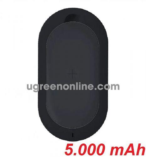 Mipow SPL07BK Pin sạc dự phòng Cube 5.000 mAh ( Black ) GKOL 86382