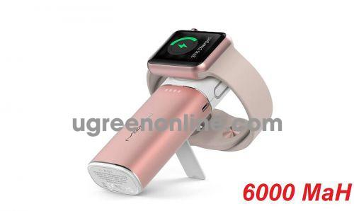 Mipow SPL11W2RG Sạc dự phòng Apple watch 6000 Lightning ( Rose Gold ) SPL11W2-RGGKOL 86623