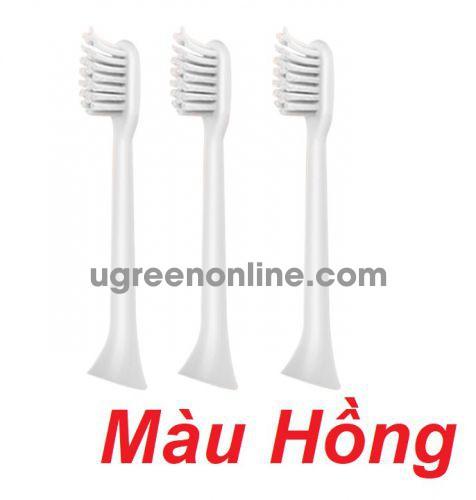 Mipow CI-200-C Bộ 3 đầu bàn chải điện FDA USA Pink ( CI-200-C ) GKOL 86654