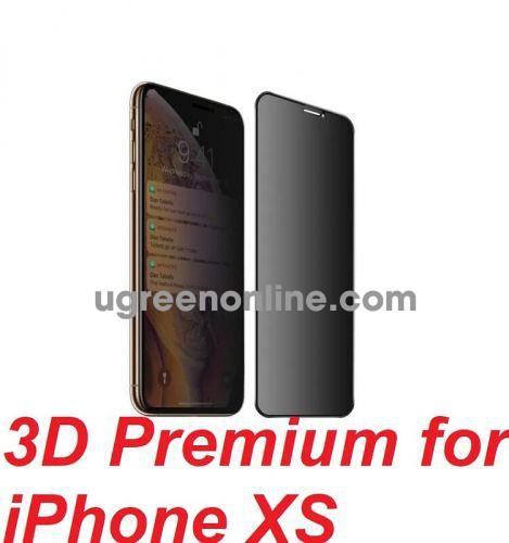 Mipow P-BJ92 Dán CL chống nhìn trộm Kingbull 3D Premium for iPhone XS ( P-BJ92) GKOL 86786