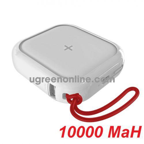 Mipow SPX01W-T-WT Sạc dự phòng không dây Cube X 10000 PD18W Version II White ( SPX01W-T-WT ) GKOL 87085