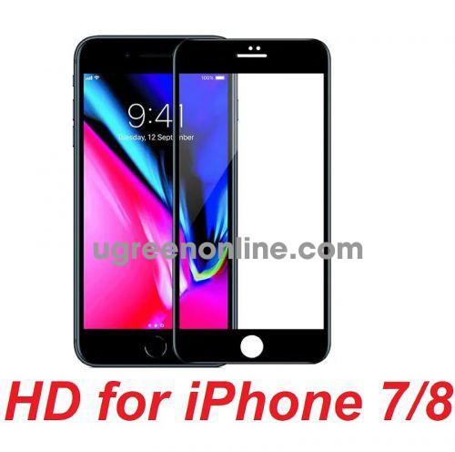 Mipow BJ26-BK Miếng dán cường lực Kingbull HD for iPhone 7/8 Black ( BJ26-BK ) GKOL 87264
