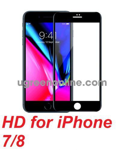 Mipow BJ28-BK Miếng dán cường lực Kingbull HD for iPhone 7/8 plus Black ( BJ28-BK ) GKOL 87676