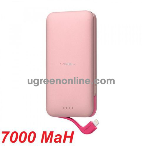 Mipow SPL08WGD Pin sạc dự phòng Cube 7.000 mAh ( Rose Gold ) GKOL 88132