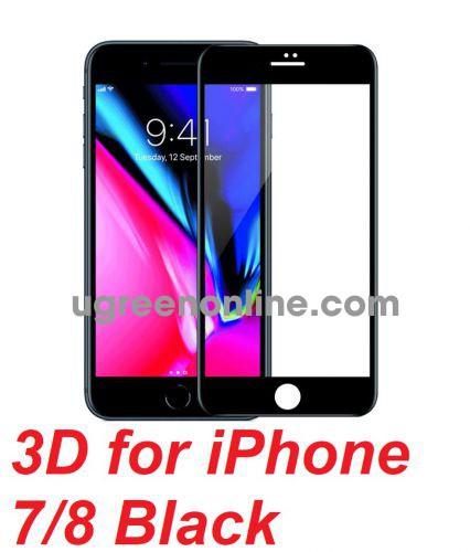 Mipow BJ11-BK Miếng dán cường lực Kingbull 3D for iPhone 7/8 Black ( BJ11-BK ) GKOL 88237