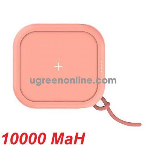 Mipow SPX01W-PK Sạc dự phòng không dây Cube X10000+ Pink ( SPX01W-PK ) GKOL 88411