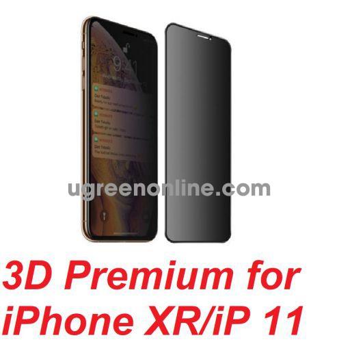 Mipow P-BJ17-BK Miếng dán CL Kingbull 3D Premium for iPhone XR/iPhone 11 ( P-BJ17-BK ) GKOL 88436