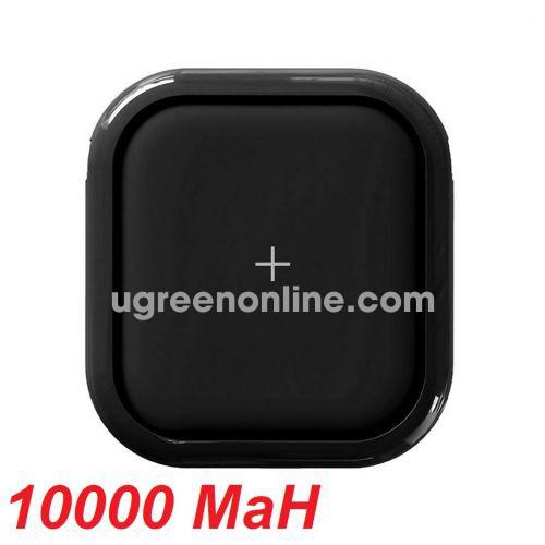 Mipow SPX01W-BK Sạc dự phòng không dây Cube X10000+ Black ( SPX01W-BK ) GKOL 88575
