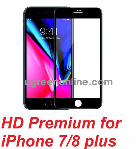 Mipow P-BJ28-BK Miếng dán CL Kingbull HD Premium for iPhone 7/8 plus Black ( P-BJ28-BK ) GKOL 88633