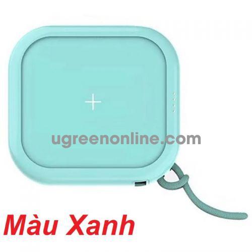 Mipow SPX01W-T-LB Sạc dự phòng không dây Cube X 10000 PD18W Version II Blue ( SPX01W-T-LB ) GKOL 88714