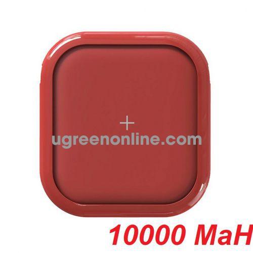 Mipow SPX01W-R Sạc dự phòng không dây Cube X10000+ Red ( SPX01W-R ) GKOL 88838
