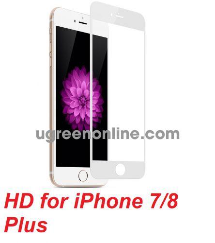 Mipow BJ28-WT Miếng dán cường lực Kingbull HD for iPhone 7/8 Plus White ( BJ28-WT ) GKOL 88929