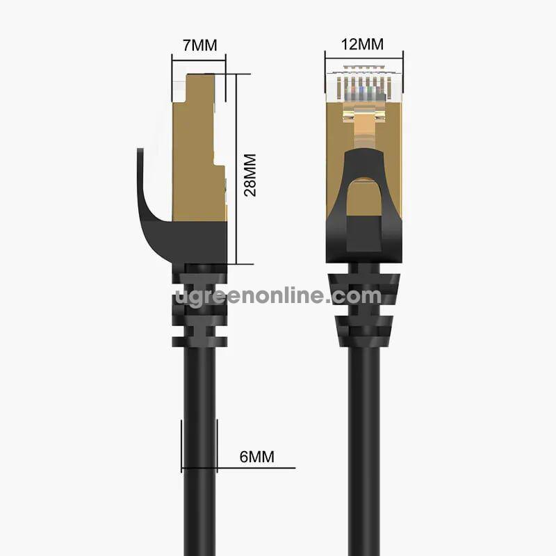 Orico PUG-C7-80-BK Cáp mạng 8m CAT 7 nhanh 10 gigabit màu đen - 96562