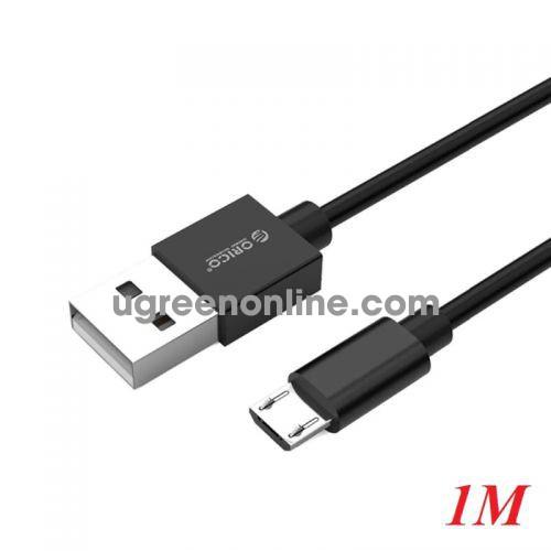 Orico ADC-10-V2-BK Cáp sạc 1m micro điện thoại Android USB 2.0 - 97345 10097345