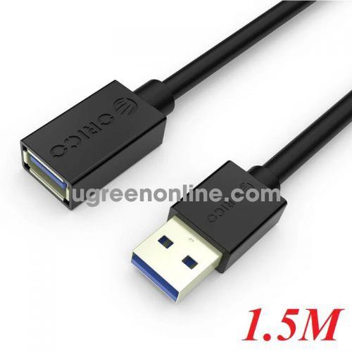 Orico CER3-15-V1-BK Cáp nối dài 1.5m màu đen Chuẩn USB 3.0 sang USB 3.0 - 97872 10097872
